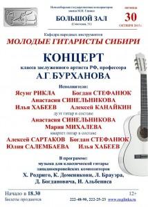 Гитаристы СИбири 30.10.2015