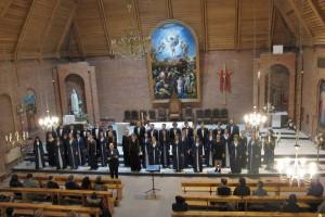 Концерт коллектива в Кафедральном костёле Преображения Господня