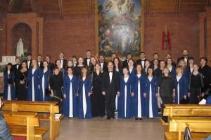 Концерт коллектива в Кафедральном костёле Преображения Господня1