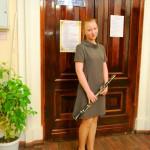Лауреат 3 степени Беляева Юлия (ДМШ Карасукского района Новосибирской области)