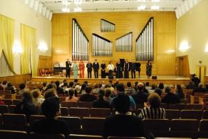 Участники концерта японской и русской музыки