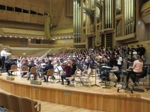 Репетиция перед концертом ММДМ