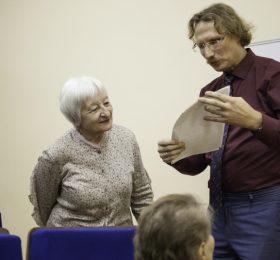 Творческая встреча с Василием Фёдоровичем ЩЕРБАКОВЫМ