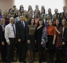 Участники творческой встречи и мастер-класса с А.С. РЫЖИНСКИМ