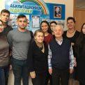 А.И. Бороздин, В.М. Никифорова и студенты консерватории