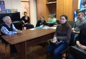 Студенты НГК на встрече в абилитационном центре
